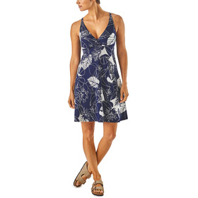 Patagonia Amber Dawn Dress Women Valley Flora: Classic Navy/Rosewater